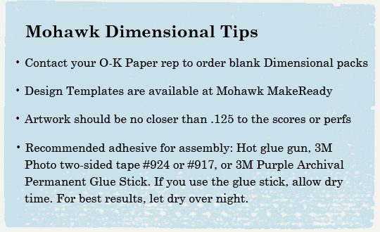 Dimensional tips